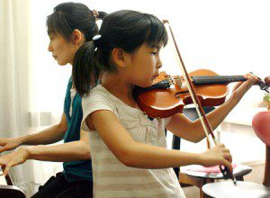 バイオリンレッスン風景2